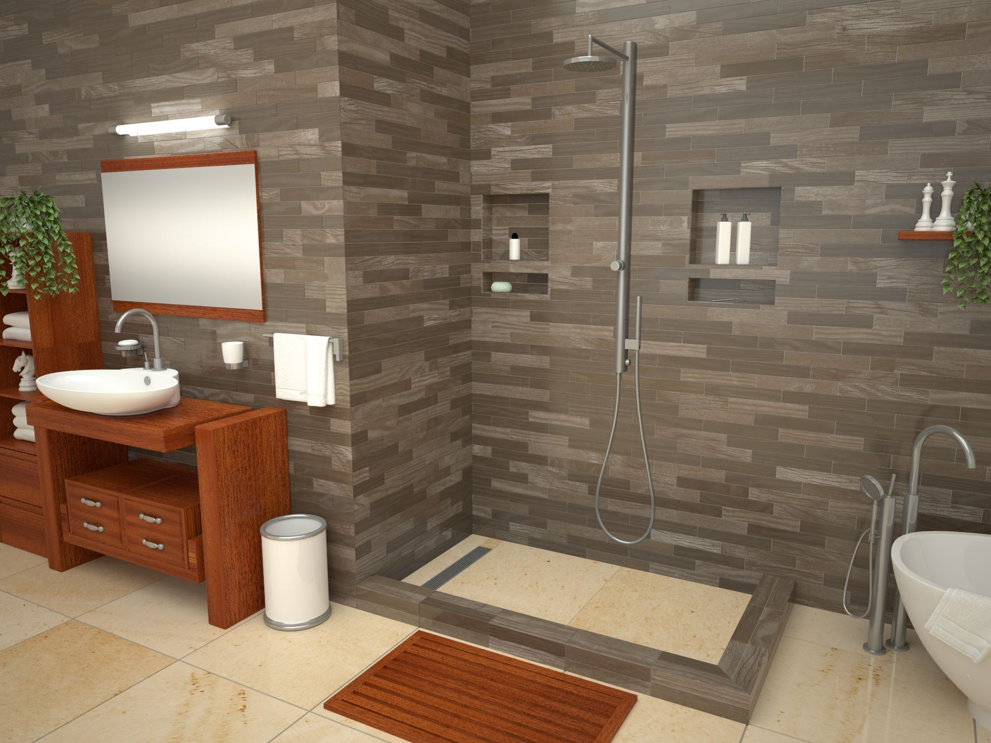 Tile Redi Shower Bases